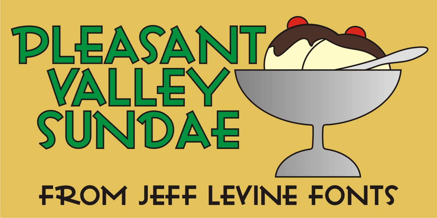 Pleasant Valley Sundae JNL