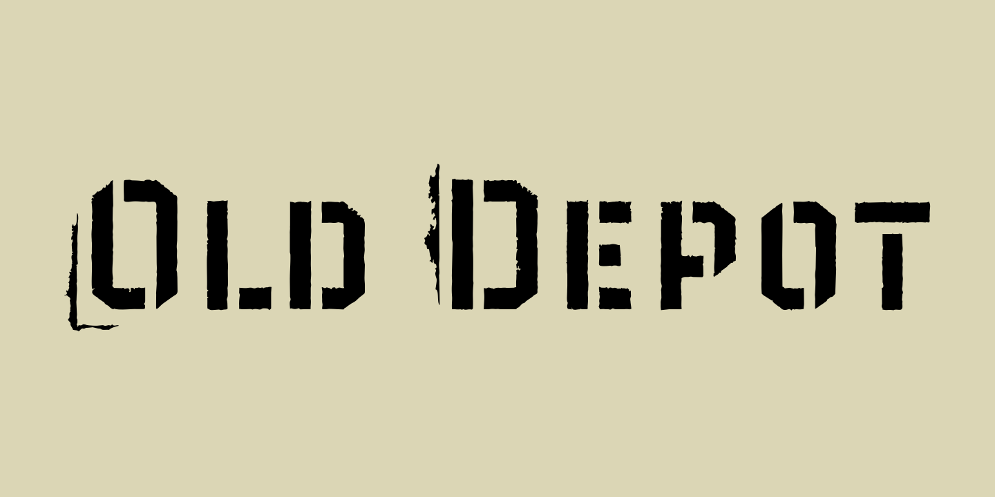 Depot New Fonts by Moretype