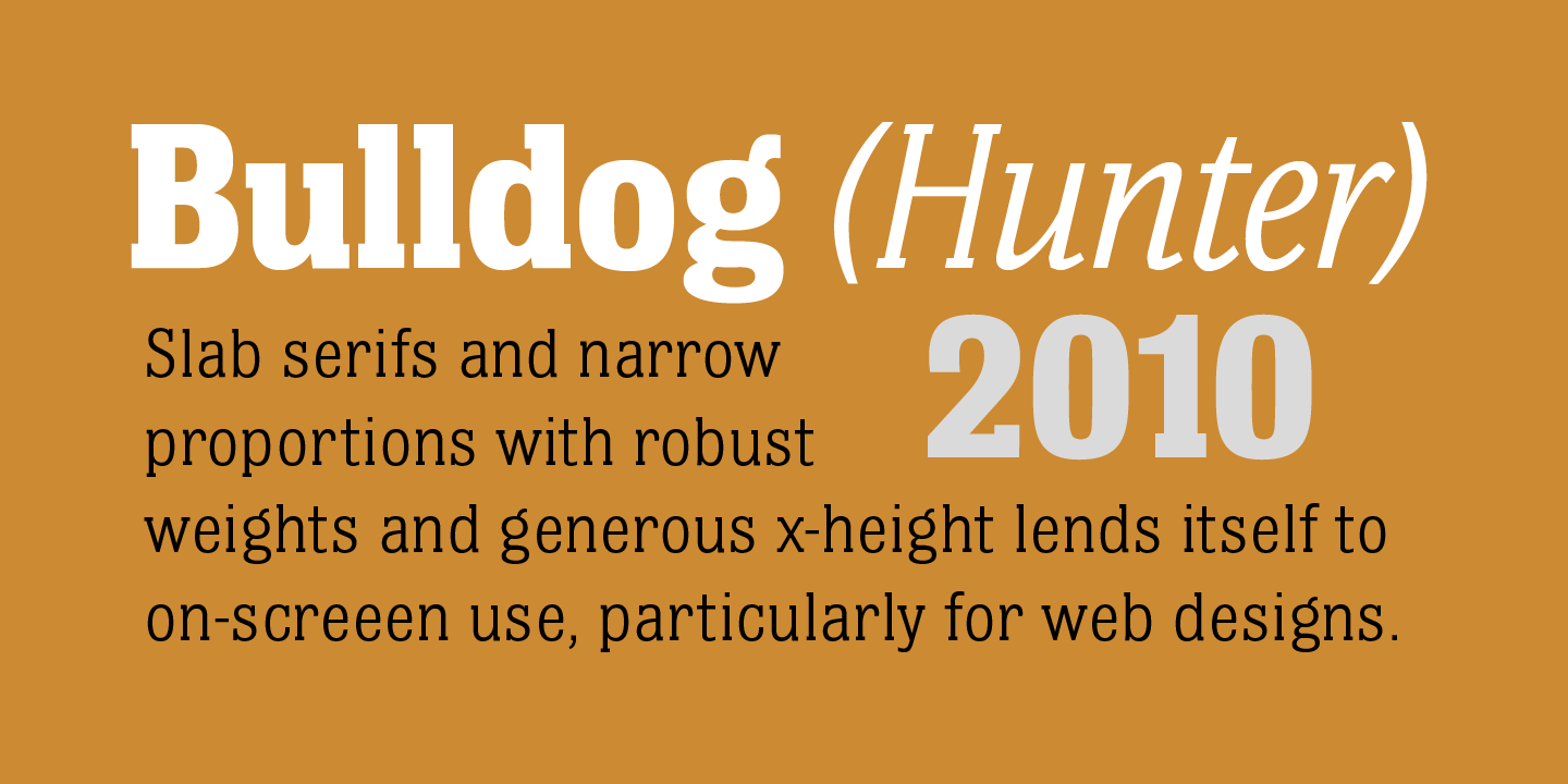 Bulldog Hunter Std