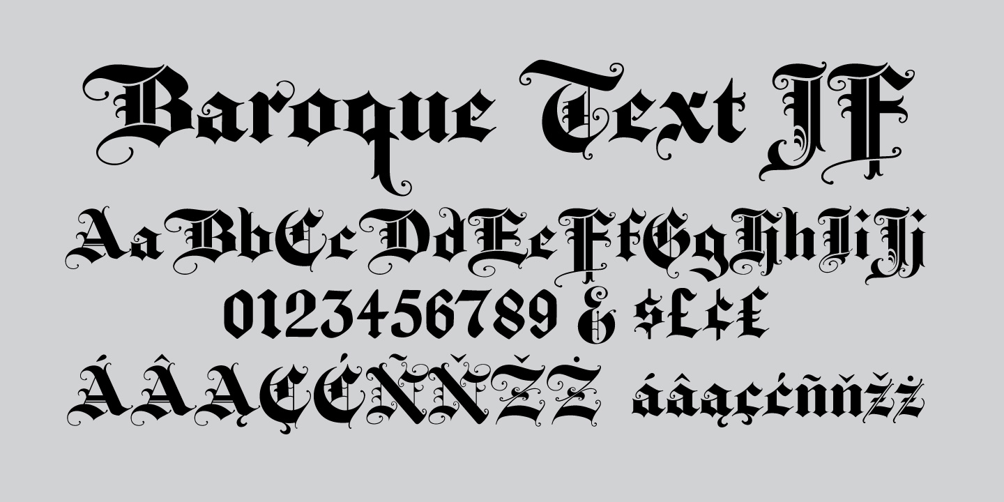 Baroque Text JF
