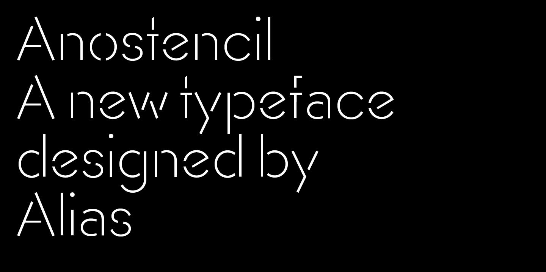 Stencil fonts - Urban Fonts