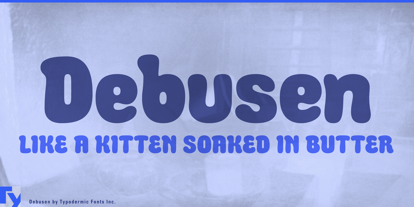Best sellers premium fonts page 248 urban fonts - Debusen By Typodermic Category Decorative