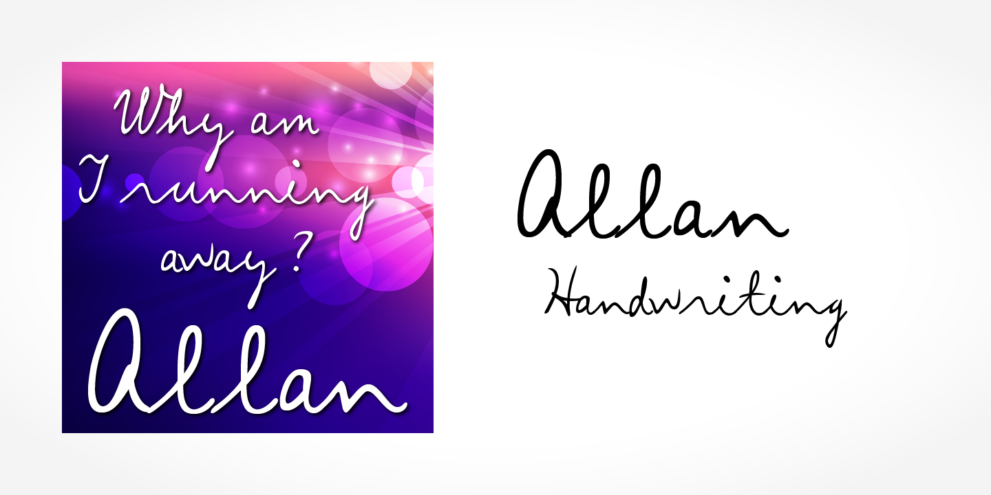 Allan Handwriting