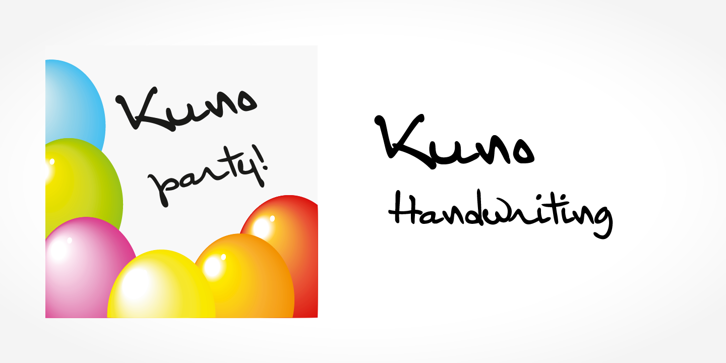 Kuno Handwriting