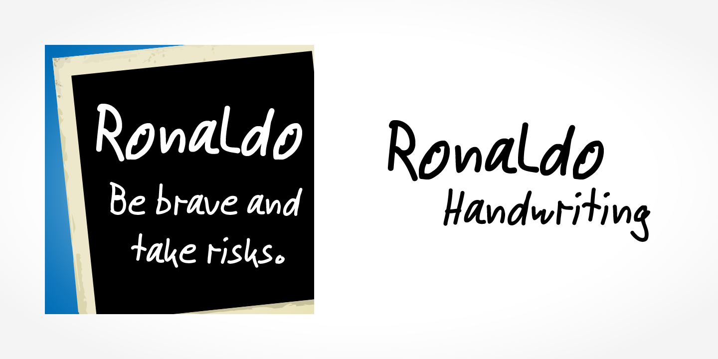 Ronaldo Handwriting