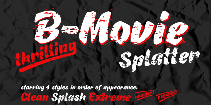 B-Movie Splatter