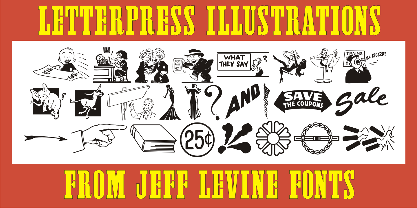 Letterpress Illustrations JNL