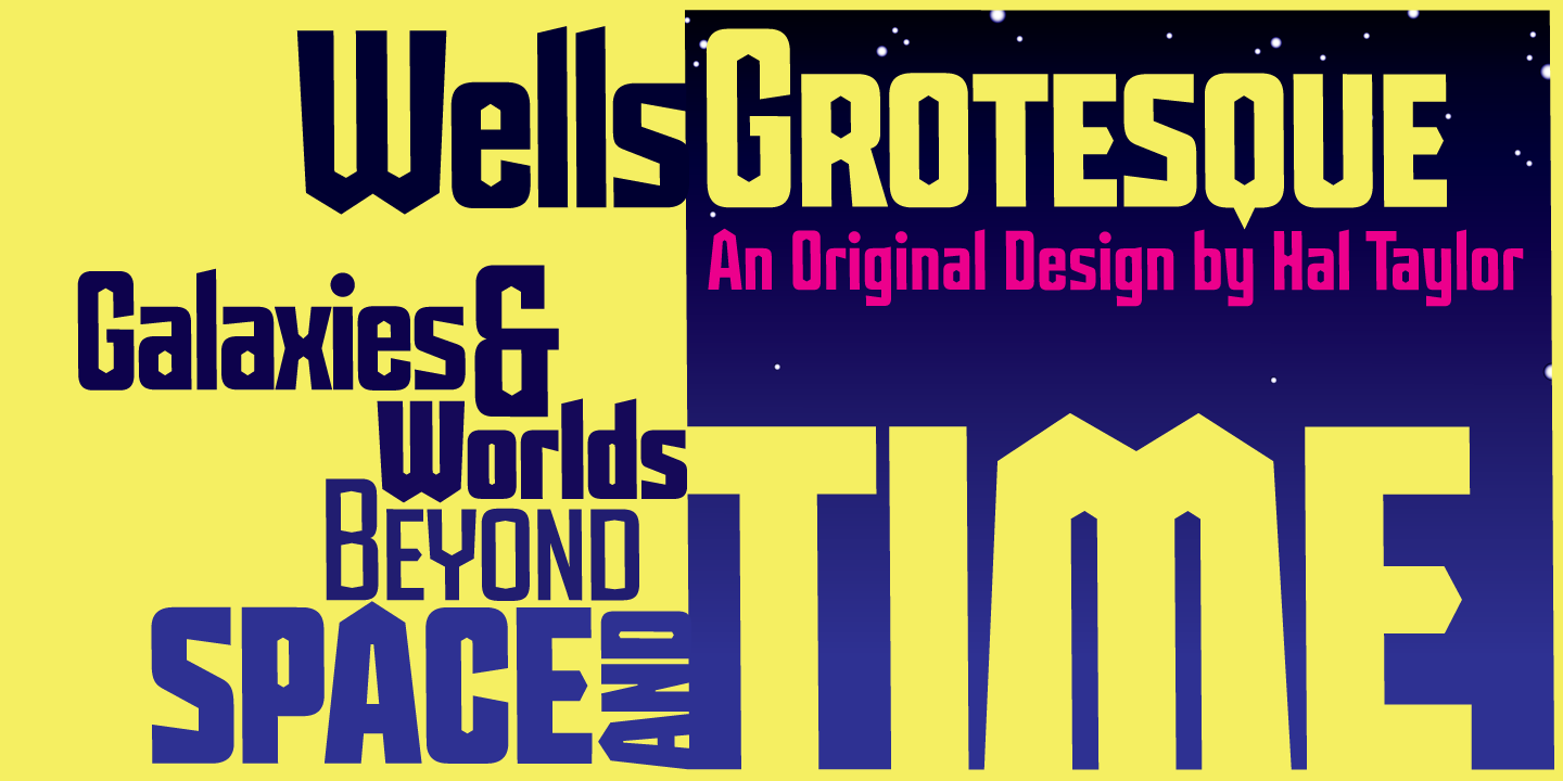 Wells Grotesque Pro