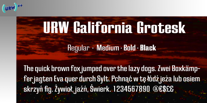 California Grotesk