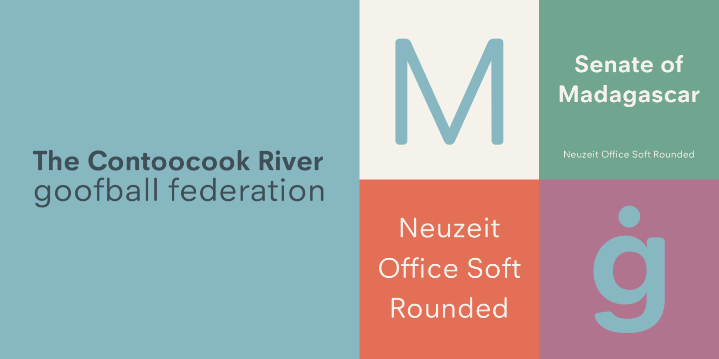 Neuzeit Office Soft Rounded