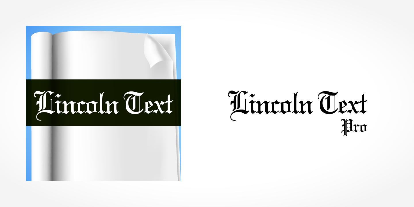 Lincoln Text Pro