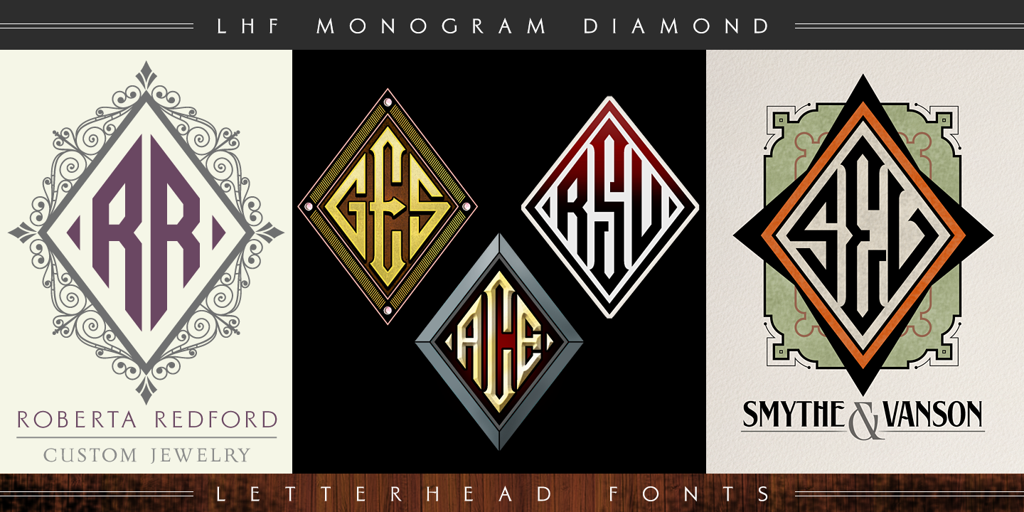 LHF Monogram Diamond