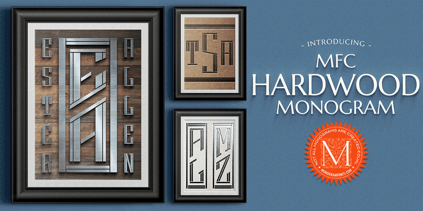 MFC Hardwood Monogram