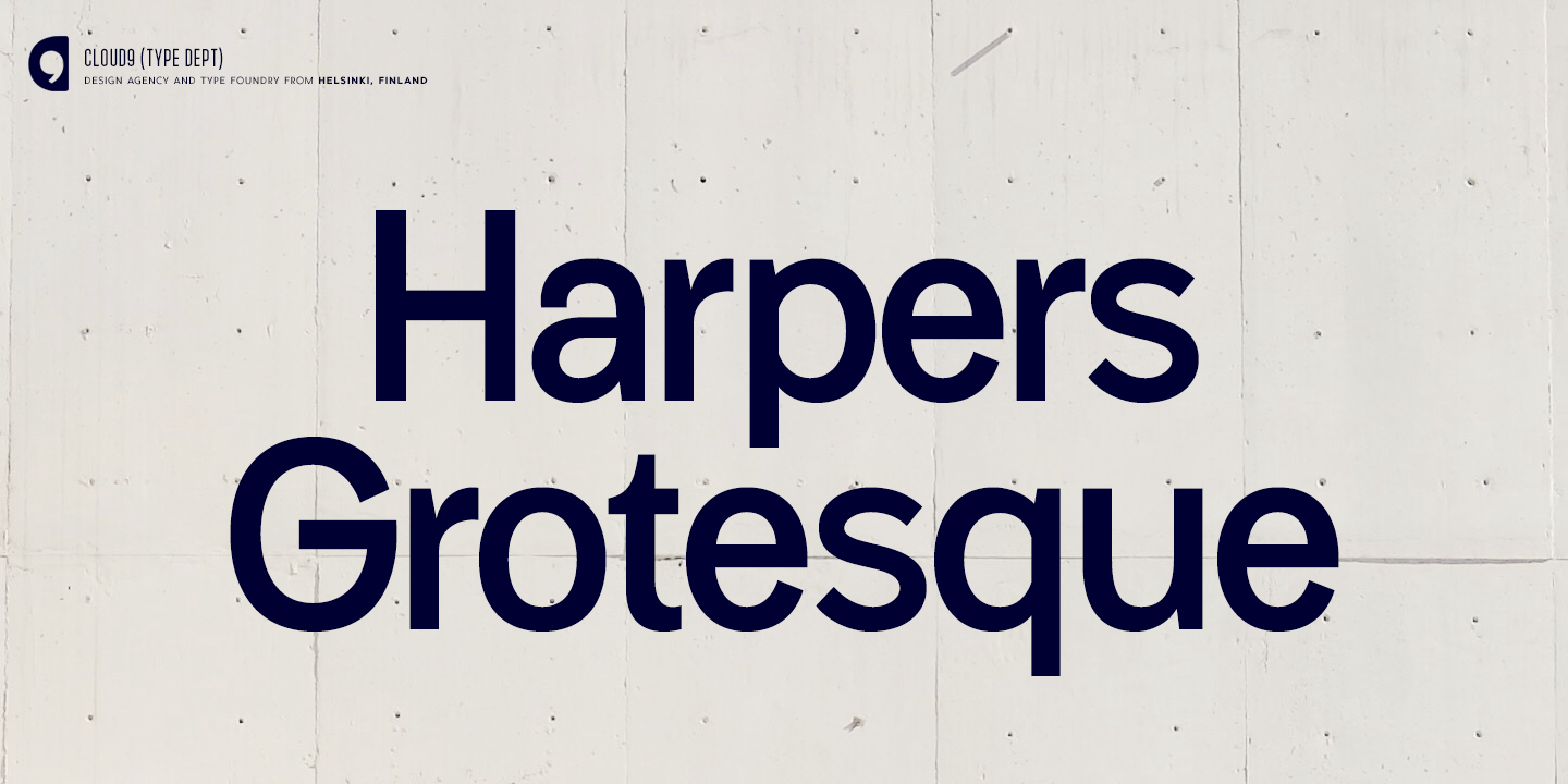 Harpers Grotesque