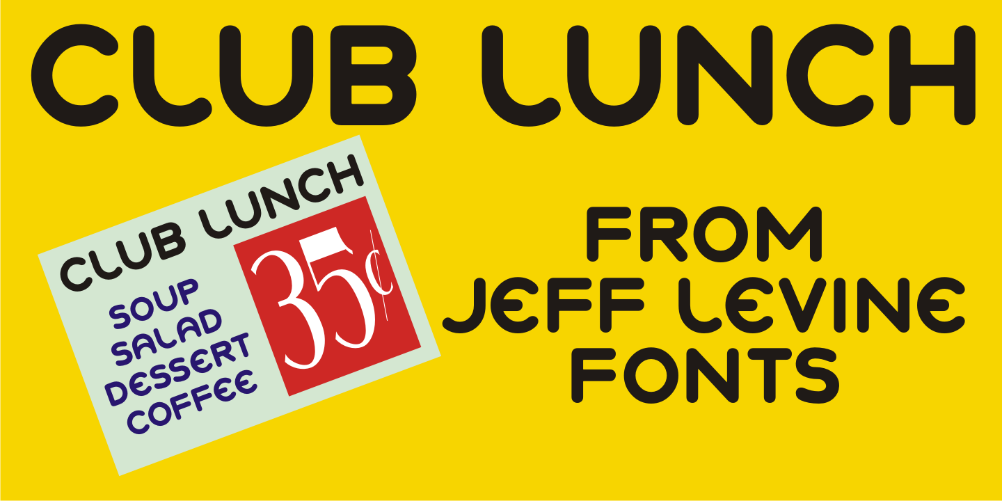 Club Lunch JNL