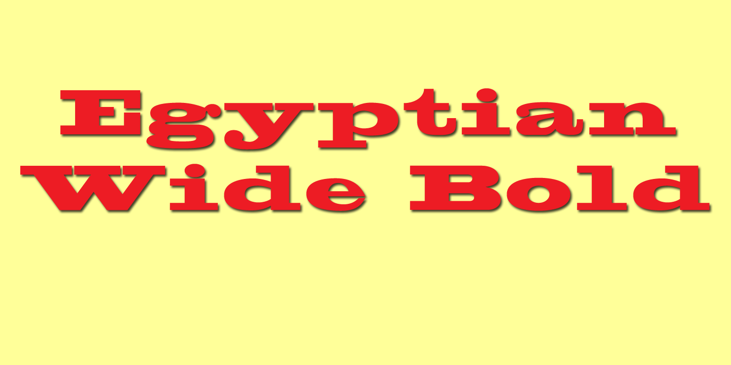 Egyptian Wide