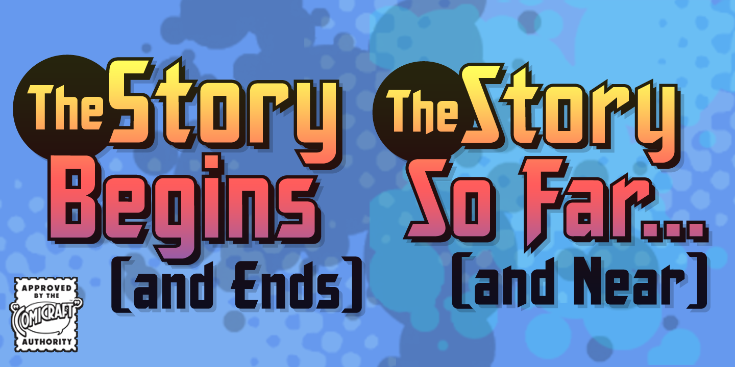 The Story Begins & Ends