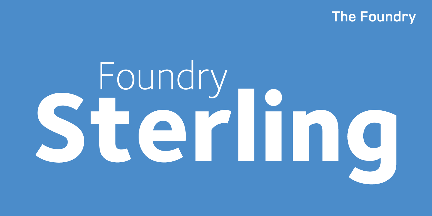 Foundry Sterling
