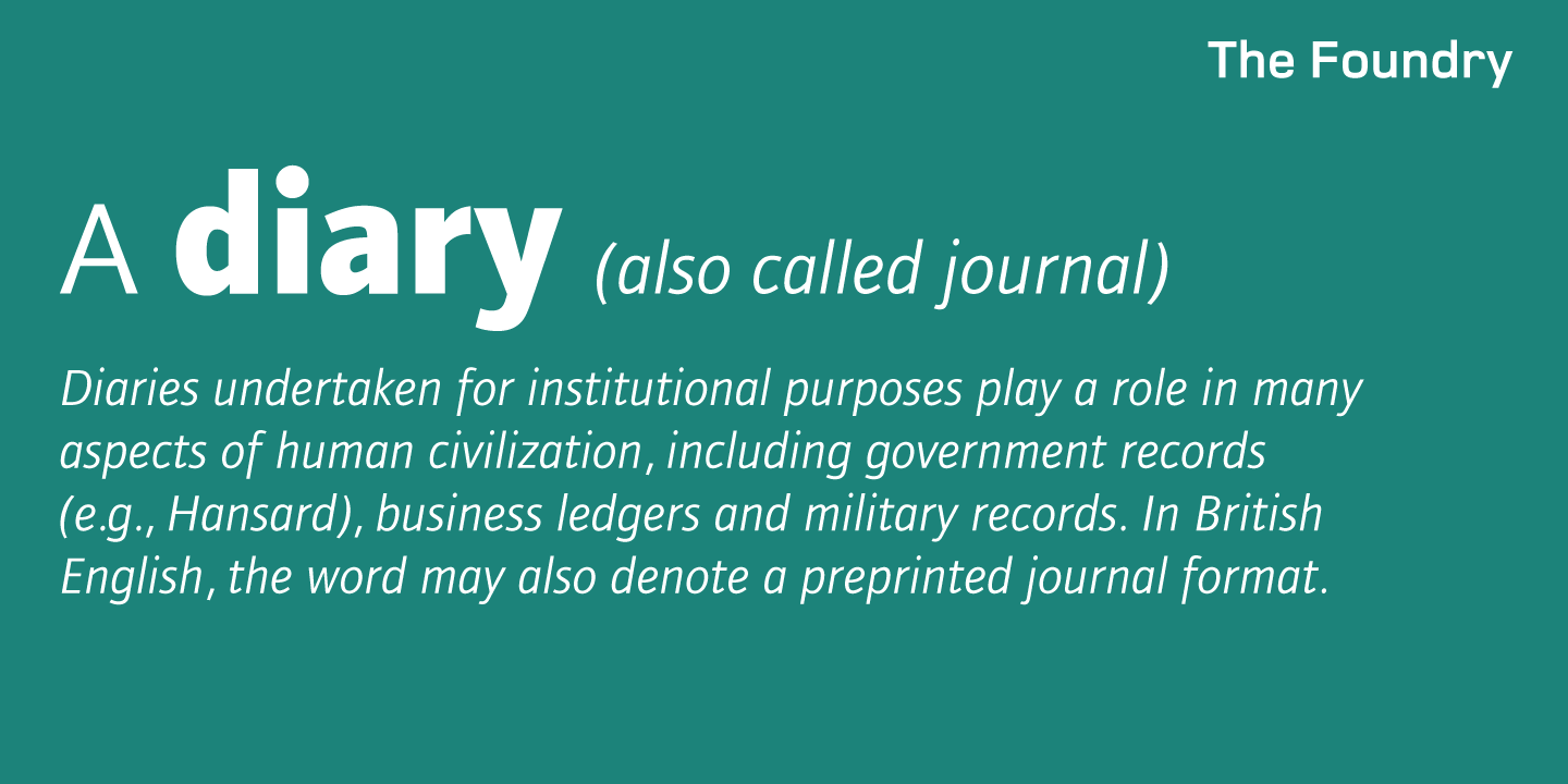 Foundry Journal