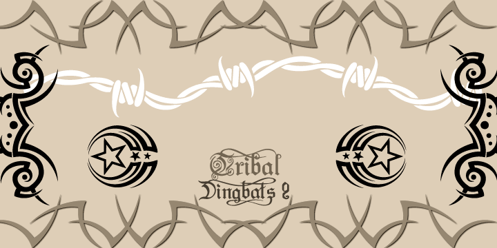 Tribal Dingbats II