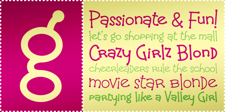 Crazy Girlz Blond BTN