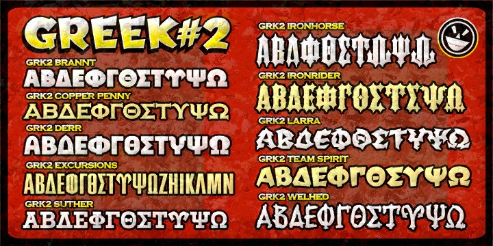 Greek Font Set #2