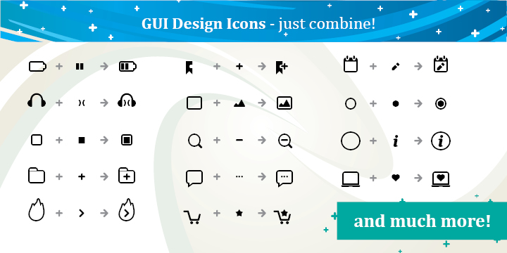 GUI Design Icons