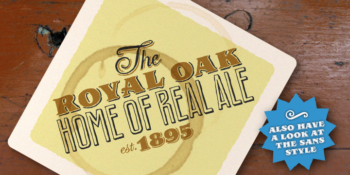 Royal Oak Serif