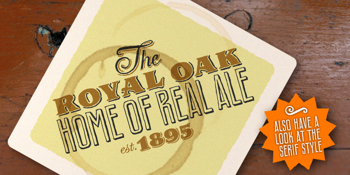Royal Oak Sans
