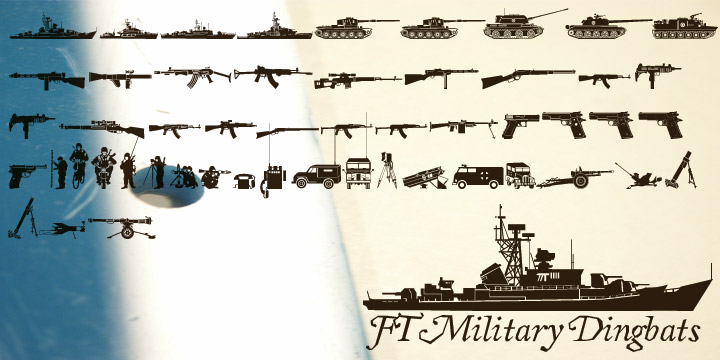 FT Military Dingbats