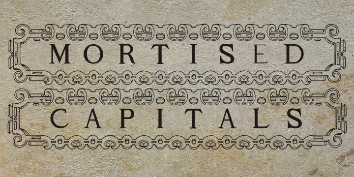 Mortised Capitals