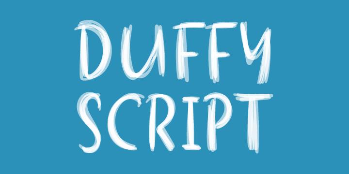 Duffy Script (Shinntype) MyFonts