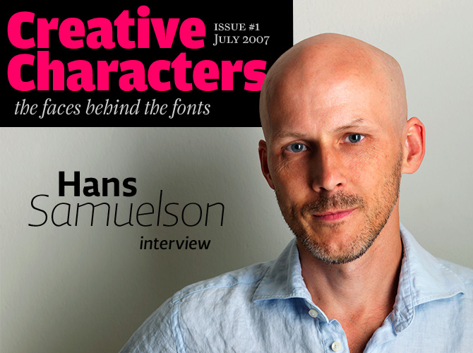 Creative Characters: Hans Samuelson interview