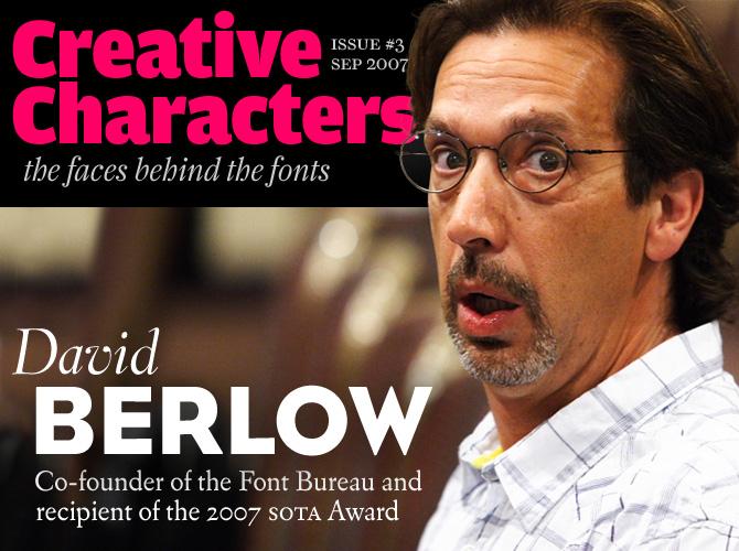 Creative Characters: David Berlow