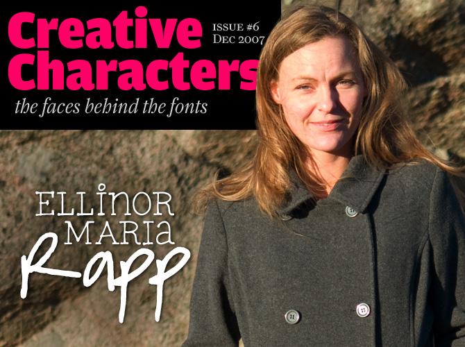 Creative Characters: Ellinor Maria Rapp