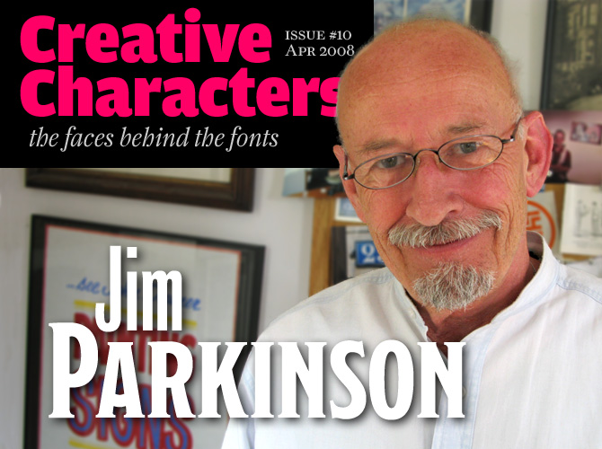 Creative Characters: Jim Parkinson