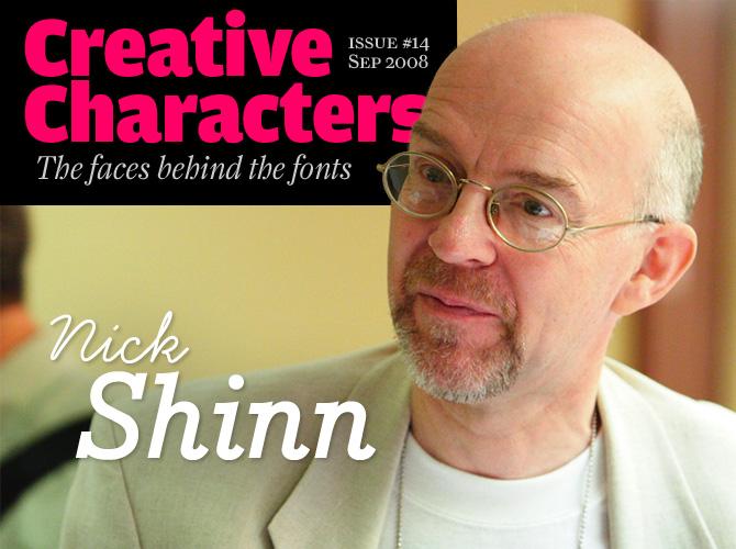 Creative Characters: Nick Shinn