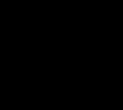 Blackcurrant font sample