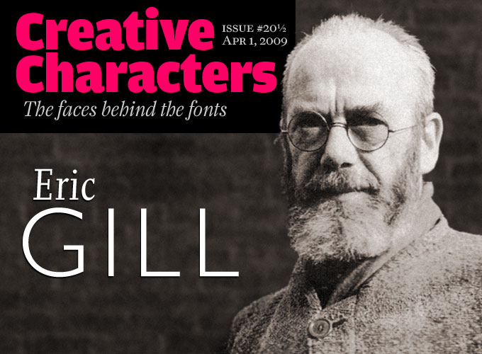 Creative Characters interview: Eric Gill
