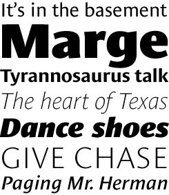 Le Monde Sans font sample