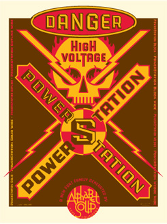 Power Station promo graphic