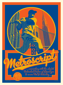 Metroscript promotional graphic