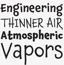Chaloops font sample