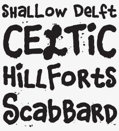 Corndog font sample