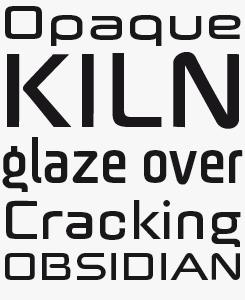 Batory font sample