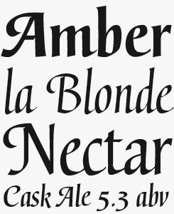Gertrud font sample