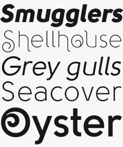 Solomon font sample