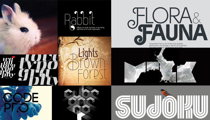 Simov's font samples