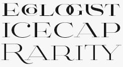 Aviano Didone font sample