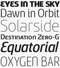 Sancoale font sample